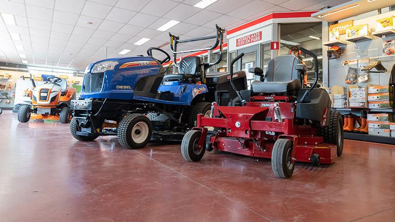 Tuin & Park machines van LMB Veldman
